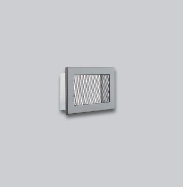 1676-VLG Ventlab Gitter mit Gittergewebe 200 x 145 mm, schwarz-1