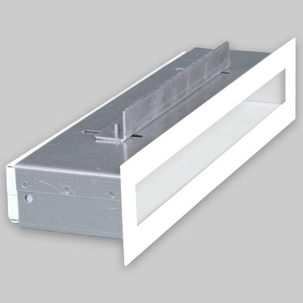 1200-OAS Open Air small 30 Ventilationsleiste, 300 x 60 mm, weiss-1