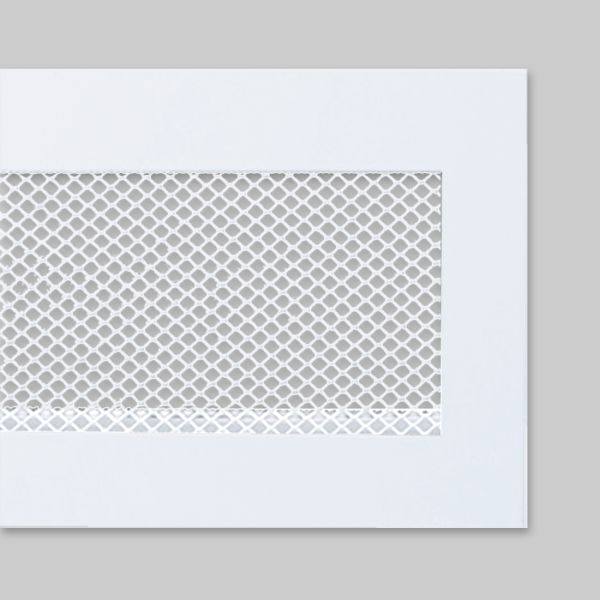 1315-OASK Open Air 100 SK Ventilationsleiste mit Gittergewebe, 1.000 x 100 mm, weiss-1