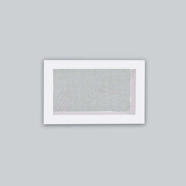 1330-OASK Open Air 103 SK Ventilationsleiste mit Gittergewebe, 285 x 180 mm, weiss-1