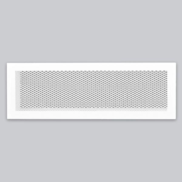 1325-OASK Open Air 102 SK Ventilationsleiste mit Gittergewebe, 520 x 114 mm, weiss-1
