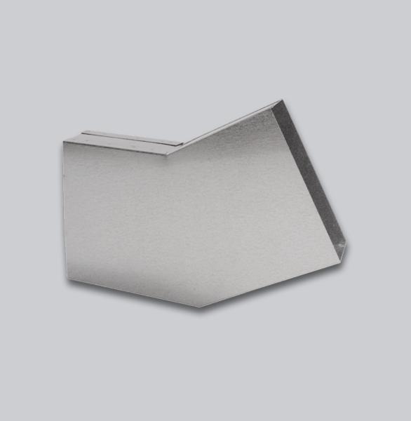 3064-FKB Flachkanal Bogen 30° mit Mittelsteg 250 x 50 mm-1