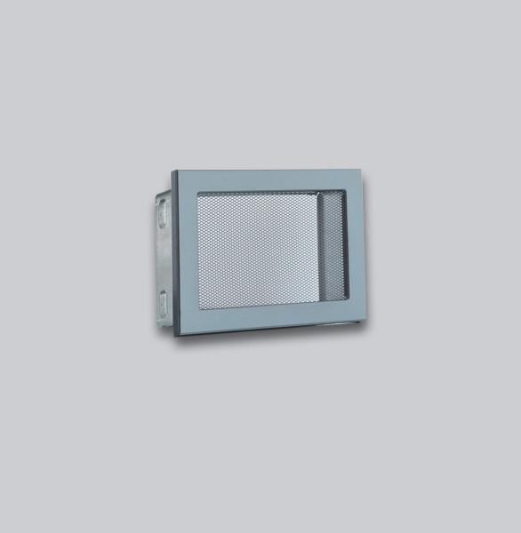 1672-VLG Ventlab Gitter mit Gittergewebe 190 x 170 mm, schwarz-1