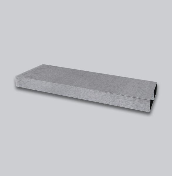 3010-FK Flachkanal Läufer 250 x 50 mm, 1,0 m mit Mittelsteg-1