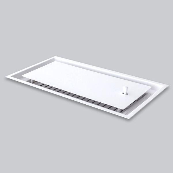 2115-OAOT Open Air 15 - OnTop 475 x 245 mm inkl. Einbaurahmen, weiss-1