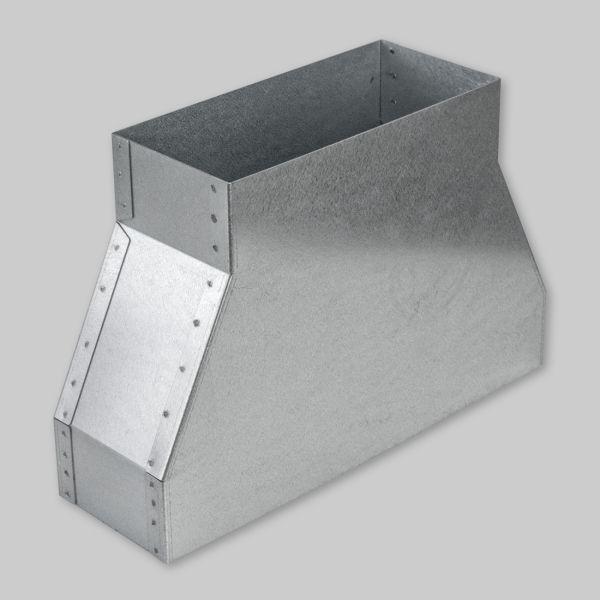 9030-OAWA Flachkanal - Adapter für Open Air Wall 300 x 90 mm auf 200 x 90 mm-1
