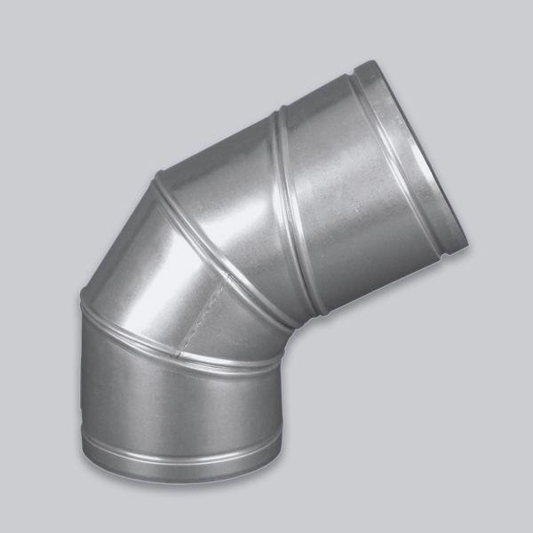 4550-ARB Alu-Flex Vario Rohrbogen verstellbar von 0 - 90°, Ø 80 mm-1