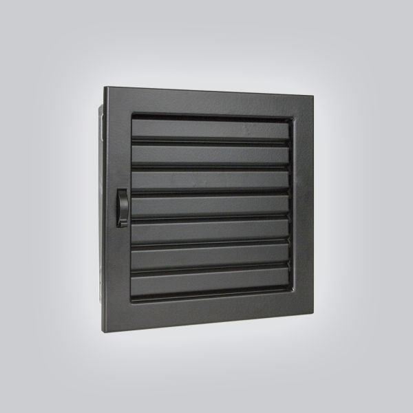 1620-VLV Ventlab Lamellengitter verstellbar 220 x 220 mm, schwarz-1