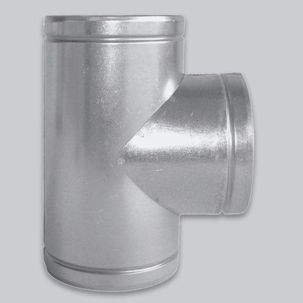 4592-LVT Luftverteiler T-Form 90°, Ø 150 mm-1