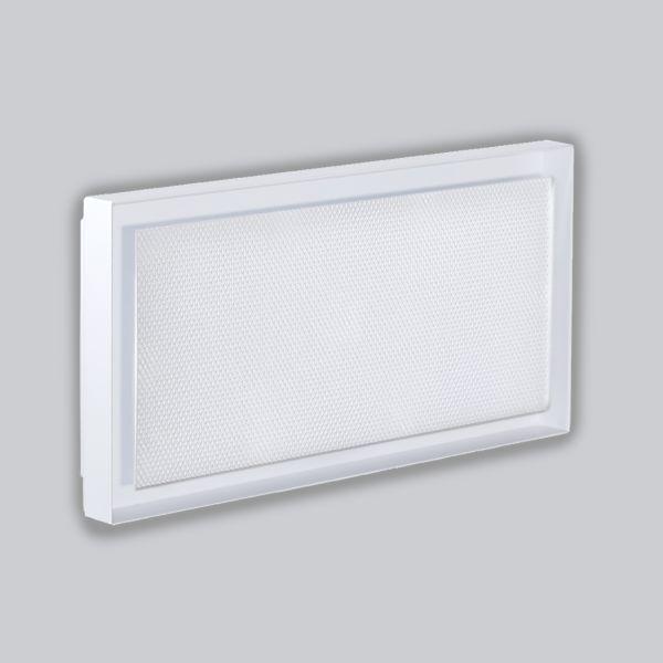 2220-OAUC Open Air 007 – UnderCover 440 x 220 mm, Rahmen weiss, Front – Putzträgerplatte-1