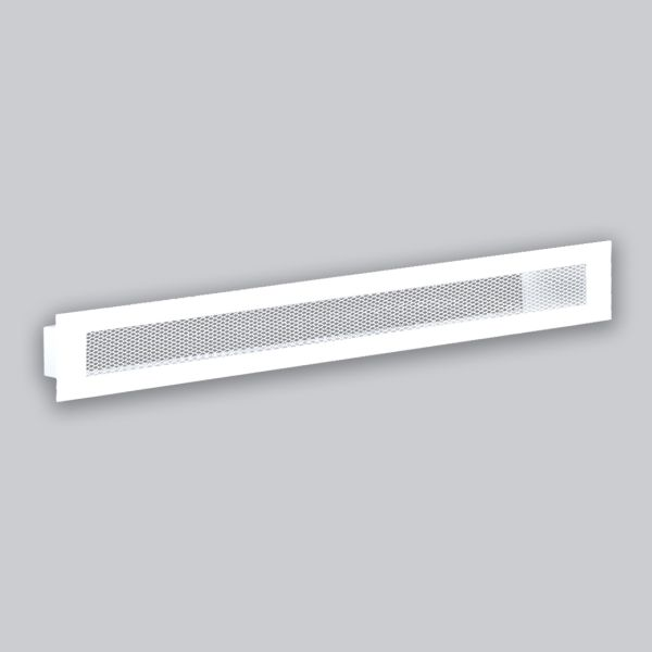 1305-OASK Open Air 60 SK Ventilationsleiste mit Gittergewebe, 600 x 100 mm, weiss-1
