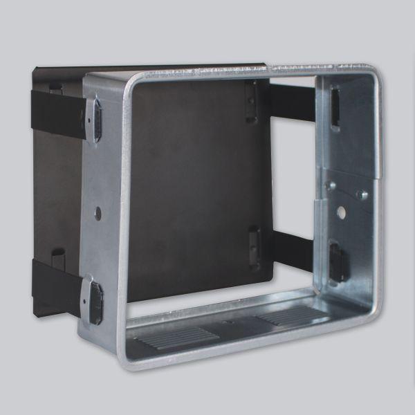 1814-VSP verstellbare Sichtschutzplatte 450 x 220 mm, schwarz-1