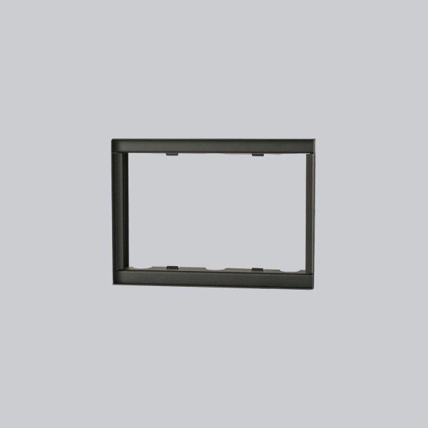 1718-VPR putzbündiger Rahmen 240 x 170 mm, schwarz-1