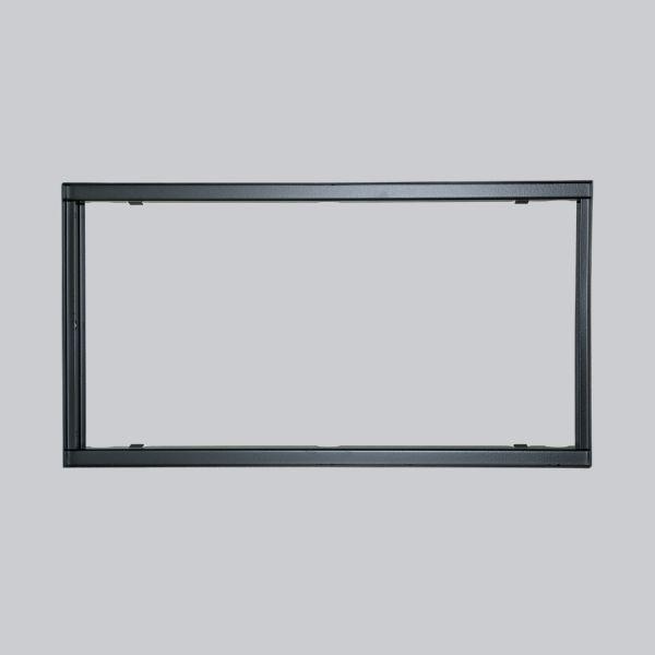 1742-VPR putzbündiger Rahmen 450 x 240 mm, schwarz-1