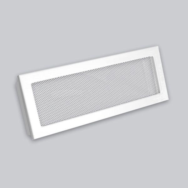 1698-VLG Ventlab Gitter mit Gittergewebe 450 x 170 mm, weiss-1