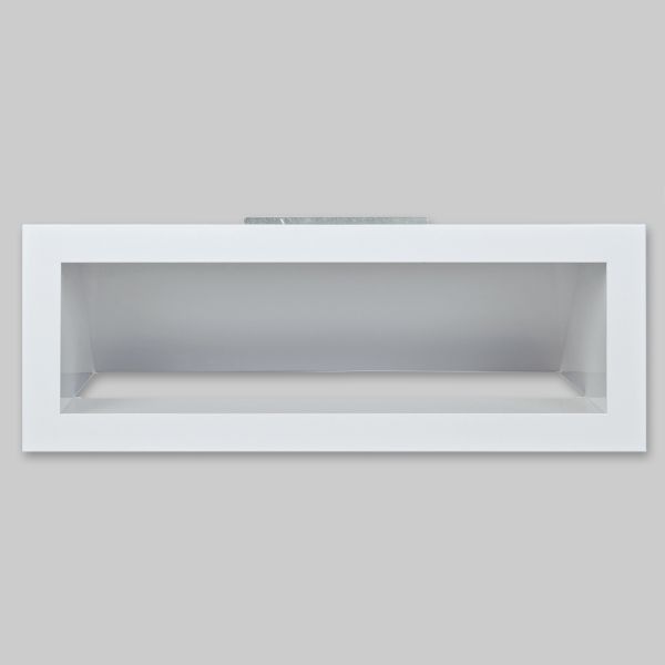 1480-OA Open Air 4 Ventilationsbox mit Luftleitblech, 400 x 150 mm, weiss-1