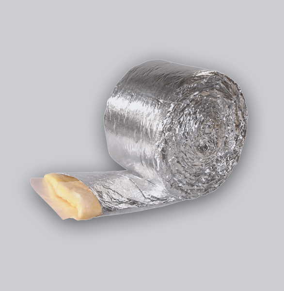 3954-FKD Flachkanal Dämmung 250 x 50 mm, 10-m-Rolle-1