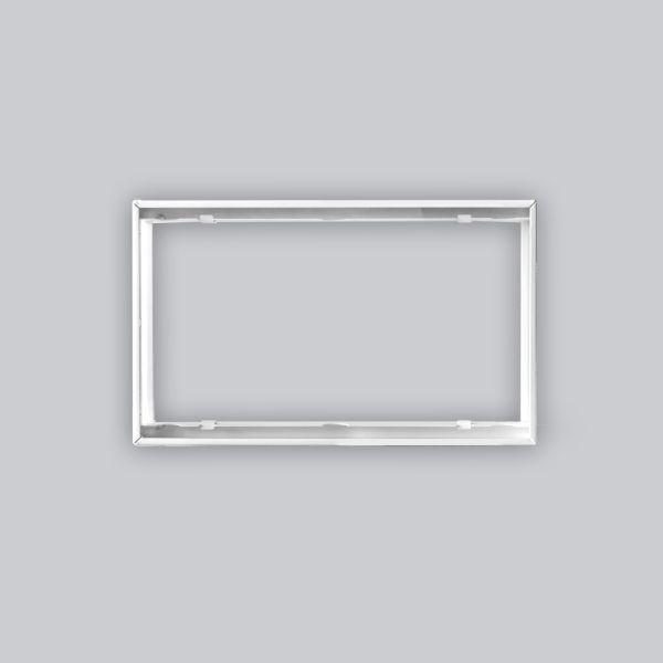 1728-VPR putzbündiger Rahmen 325 x 195 mm, weiss-1