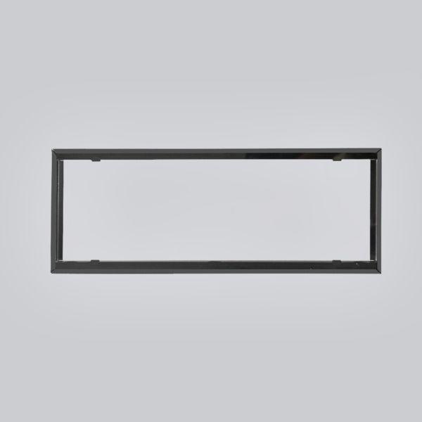 1734-VPR putzbündiger Rahmen 450 x 170 mm, schwarz-1