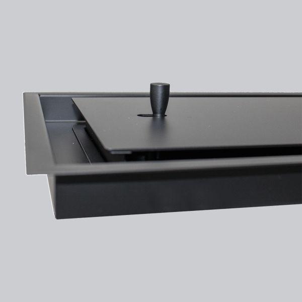 2130-OAOT Open Air 15 – OnTop 425 x 425 mm inkl. Einbaurahmen, schwarz-1