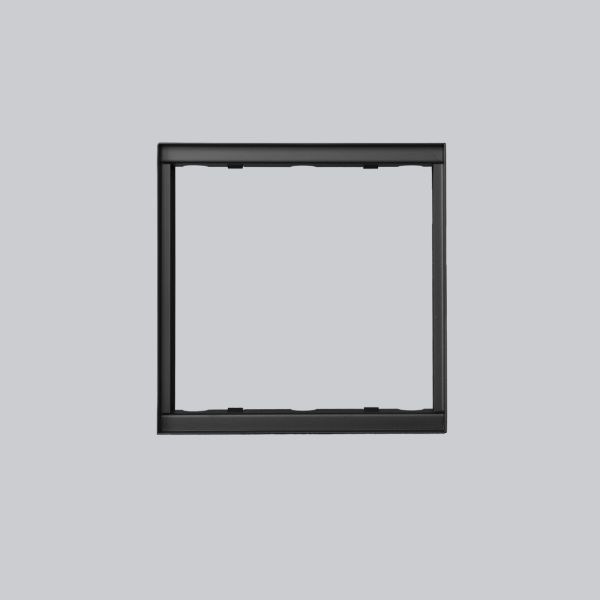 1730-VPR putzbündiger Rahmen 220 x 220 mm, schwarz-1