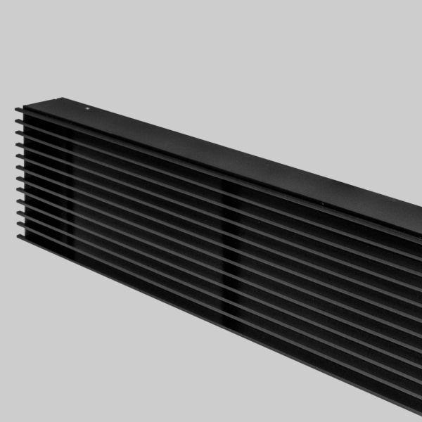 2091-OAST Open Air 11 - SubSteel Luftgitter 500 x 100 mm, schwarz-1
