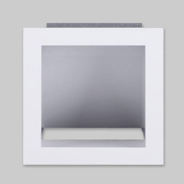 1500-OA Open Air 6 LL Ventilationsbox mit Luftleitblech, ohne Gaze 170 x 170 mm, weiss-1