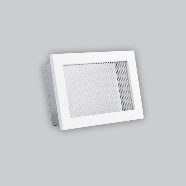 1678-VLG Ventlab Gitter mit Gittergewebe 200 x 145 mm, weiss-1