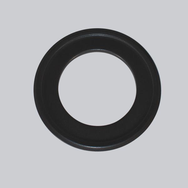 4424-RTF Rosette für Therm-Flex isoliert Ø 125 mm, schwarz-1