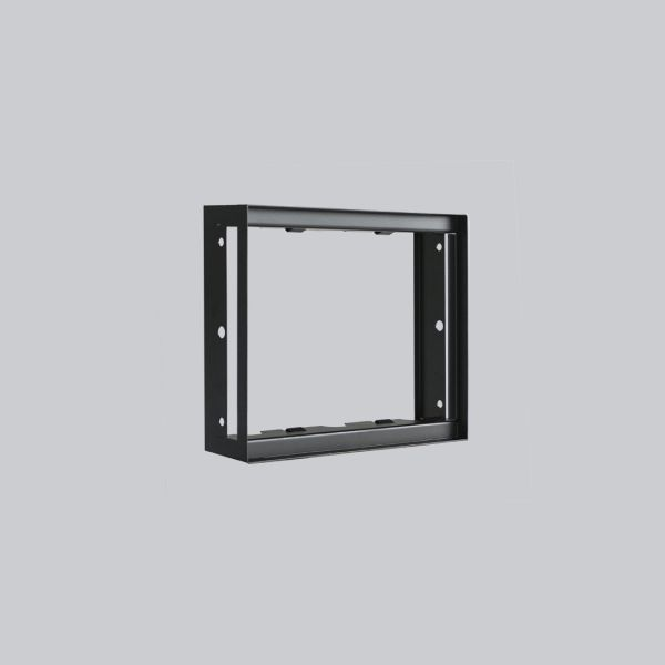 1710-VPR putzbündiger Rahmen 190 x 170 mm, schwarz-1