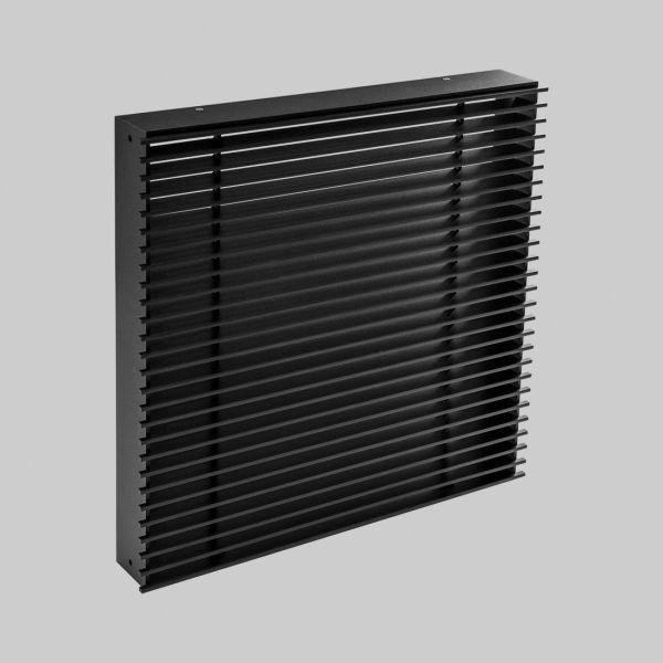 2097-OAST Open Air 11 - SubSteel Square Luftgitter, 250 x 250 mm, schwarz-1