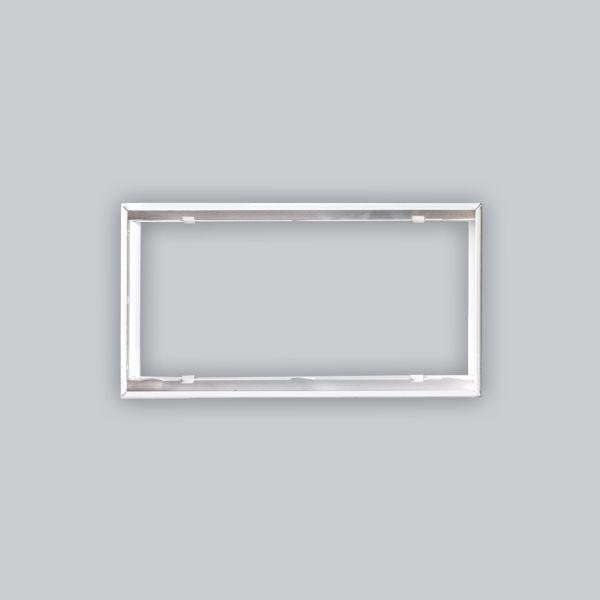 1724-VPR putzbündiger Rahmen 325 x 170 mm, weiss-1