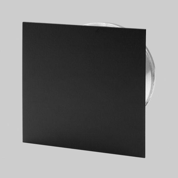 5310-PD-s Putzdeckel 145 mm quadratisch, schwarz-1