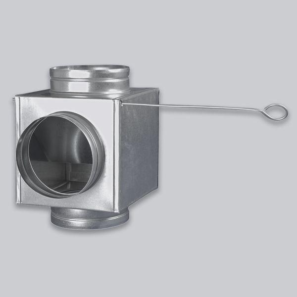 4682-LVBT Luftverteilerbox T 3-fach mit Umlenkung, Ø 150 mm-1