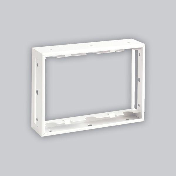 1720-VPR putzbündiger Rahmen 240 x 170 mm, weiss-1
