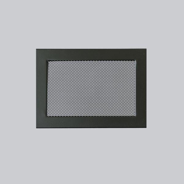 1680-VLG Ventlab Gitter mit Gittergewebe 240 x 170 mm, schwarz-1
