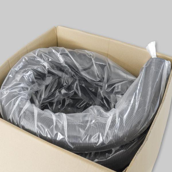 4285-CFX Color-Flex Ø 80 mm, schwarz, 20 m lang, gestaucht auf 8 m-1