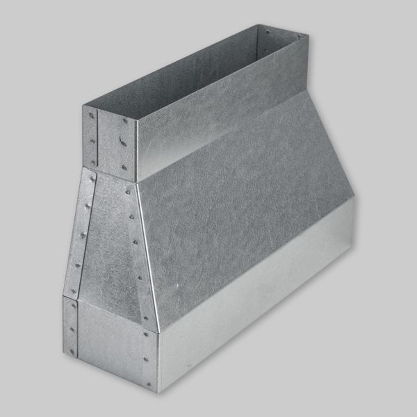 9035-OAWA Flachkanal Adapter für Open Air Wall 300 x 90 mm auf 250 x 50 mm-1