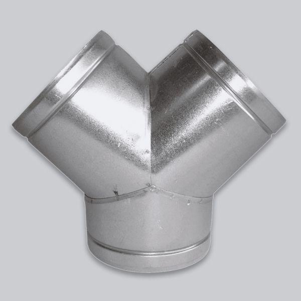 4574-LVY Luftverteiler Y-Form 90°, Ø 125 mm-1