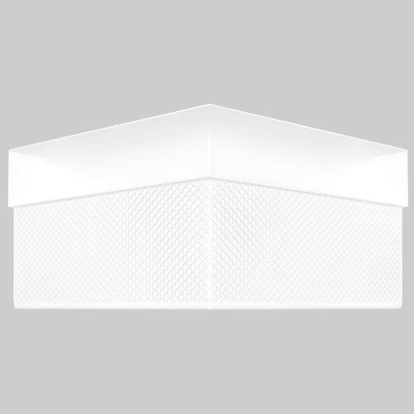 0106-OAC Open Air Curved Ecke 300 x 300 x 143 mm, weiß-1
