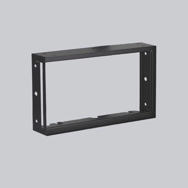 1726-VPR putzbündiger Rahmen 325 x 195 mm, schwarz-1