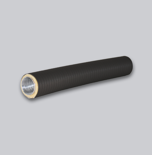 4330-TFX Therm-Flex isoliert Ø 125 mm x 0,75 m, schwarz-1
