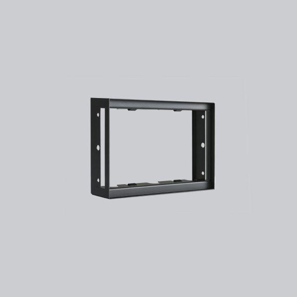 1714-VPR putzbündiger Rahmen 200 x 145 mm, schwarz-1
