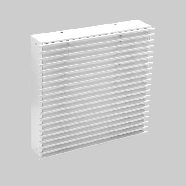 2096-OAST Open Air 11 - SubSteel Square Luftgitter, 250 x 250 mm, weiß-1