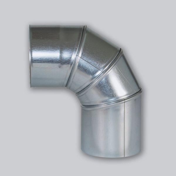 4642-VBR verstellbarer Bogen 0-90° kompatibel mit Rohr Ø 180 mm-1