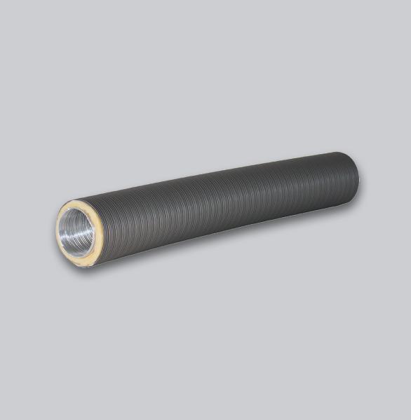 4325-TFX Therm-Flex isoliert Ø 100 mm x 0,75 m, grau-1