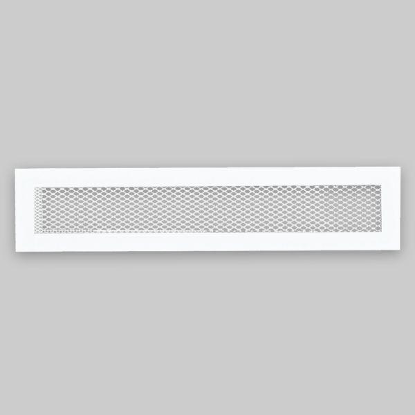 1300-OASK Open Air 40 SK Ventilationsleiste mit Gittergewebe, 400 x 100 mm, weiss-1