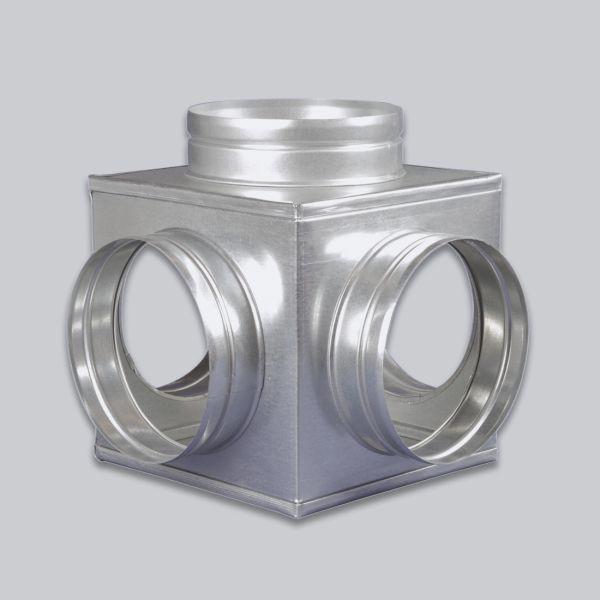 4690-LVB Luftverteilerbox 5-fach Ø 150 mm-1