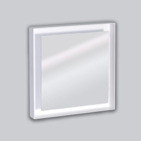 2210-OAUC Open Air 007 – UnderCover 250 x 250 mm, Rahmen weiss, Front Glasplatte – weiss-1