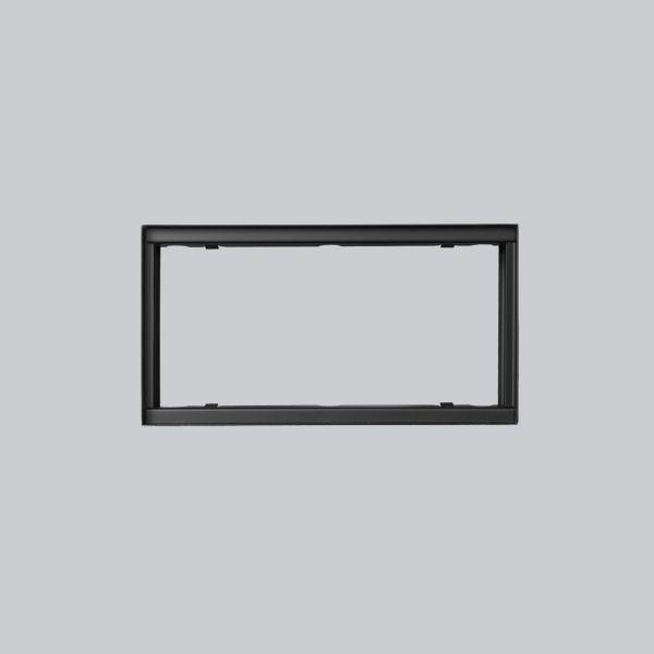1722-VPR putzbündiger Rahmen 325 x 170 mm, schwarz-1